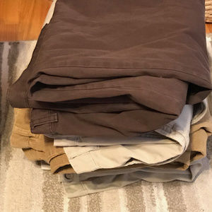 Other - 5 pairs of Men's casual pants size 42